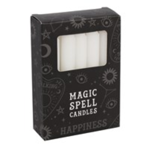 White Spell Candles