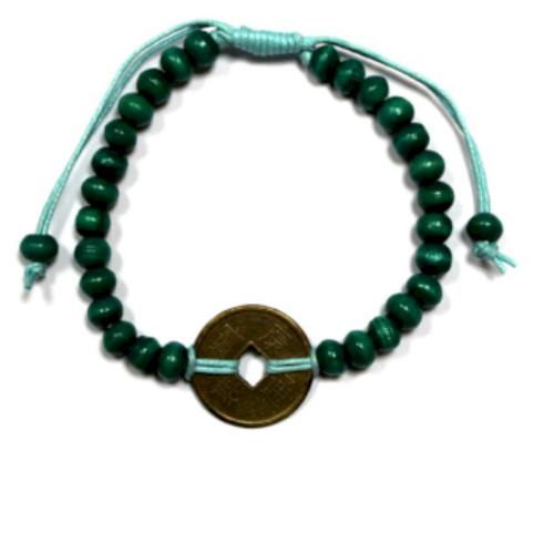 Good Luck Feng-Shui Bracelets - Green