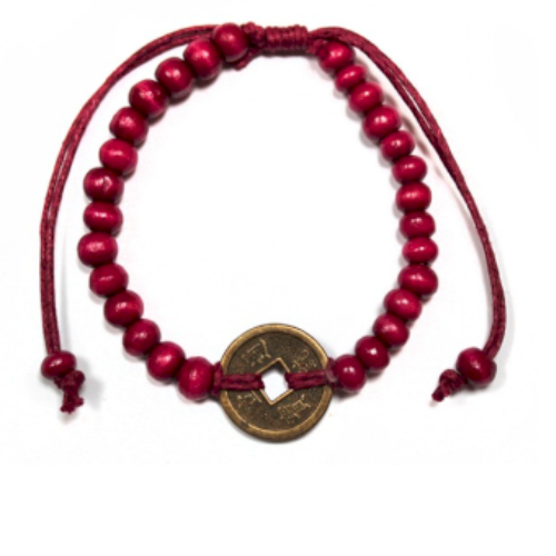 Good Luck Feng-Shui Bracelets - Red