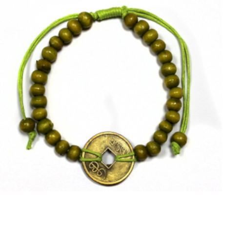 Good Luck Feng-Shui Bracelets - Lime Green