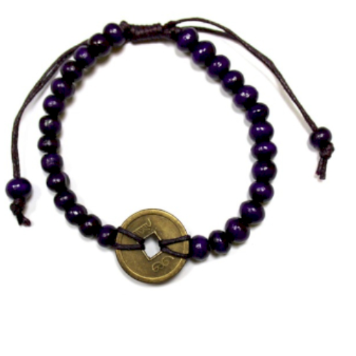 Good Luck Feng-Shui Bracelets - Purple