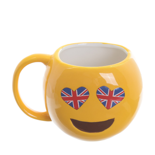 Emotive Mug Union Jack Eyes